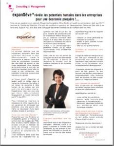 expanseve article Special Consulting et Mangement Entreprendre Oct Nov 2013