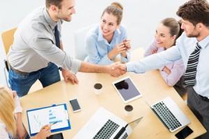 l'entrepreneur en plein potentiel et ses partenaires : tous gagnants !